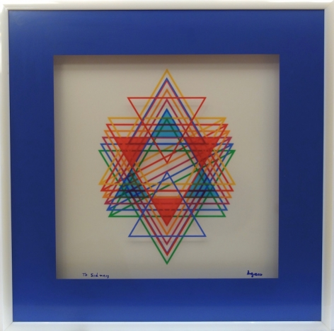 Yaacov Agam Star of David