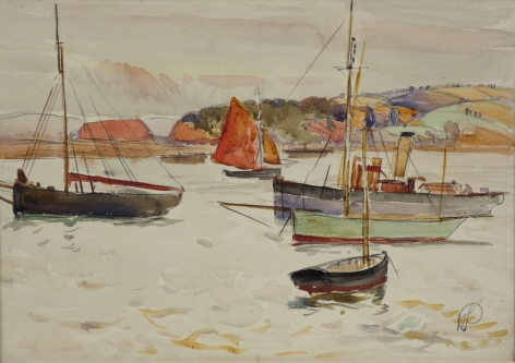 Hayley Lever Fishing Boats Exmouth England