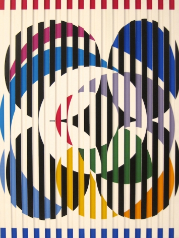 Yaacov Agam Birth of a Flag 1976