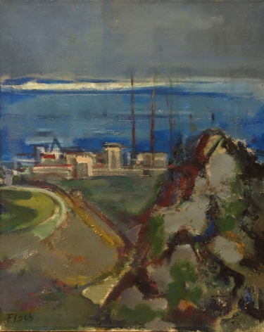 Josef Floch Joseph Floch Landscape Oil on Canvas