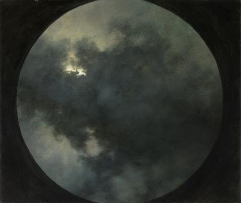 circular clouds sky sun