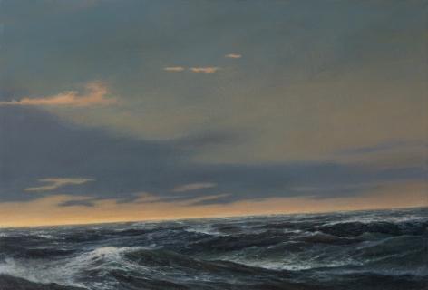 seascape ocean sky waves