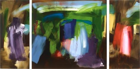 Elise Ansel, Donne Triptych, 2018