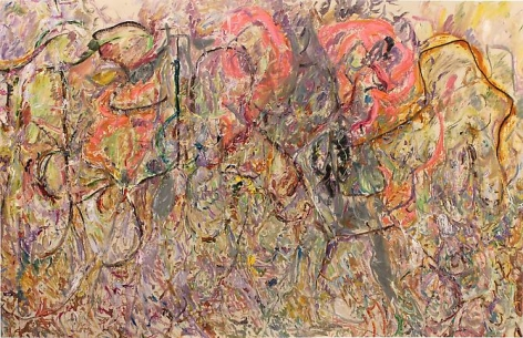 Larry Poons The Forlorn Patrol, 2013