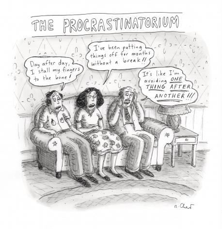Roz Chast, The Procrastinatorium,