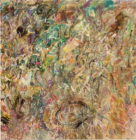 Larry Poons On the Slide, 2013