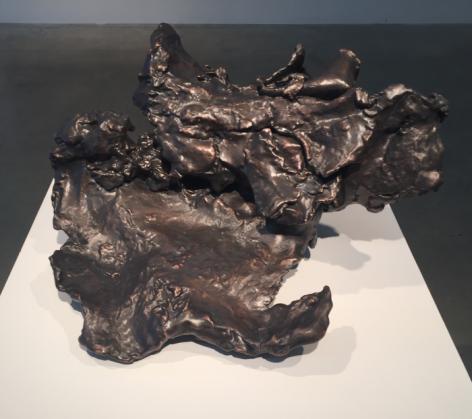 Spent Bullet [Bronze], 2015-16, resin, bronze, 26.25 x 26.75 x 13.25 in.