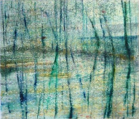 Matthias Meyer Blaues Wasser 2, 2010