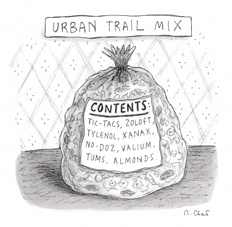 Roz Chast, Urban Trail Mix, published September 13, 2010