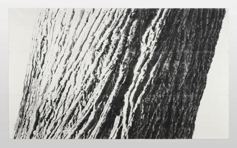 Sandra Allen,Ballast, 2009, graphite on paper, 11 x 18.5 feet,
