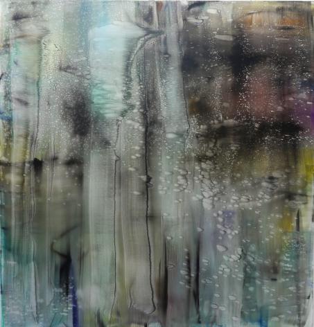 Buren, 2015, oil on canvas, 82 1/2 x 78 3/4 inches