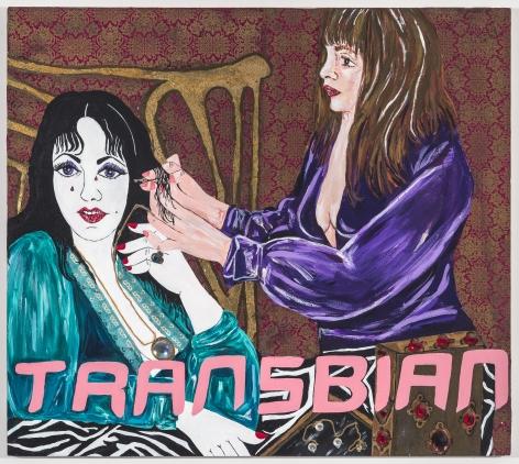KatheBurkhart Transbian: from the Liz Taylor Series (Ash Wednesday), 2013