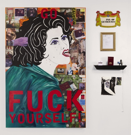 Kathe Burkhart Go Fuck Yourself: from the Liz Taylor Series (Who's Afraid of Virginia Woolf?), 2011-2012