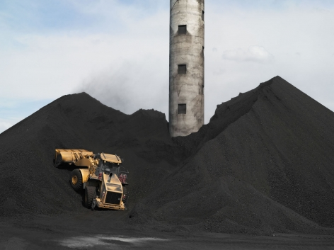 Lucas Foglia, Coal Storage, TS Power Plant, Newmont Mining Corporation, Dunphy, Nevada, 2012