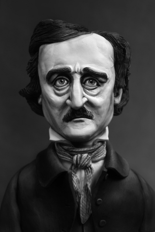 Mary Reid Kelley, Edgar Allan Poe (Ultima Thule), 2015