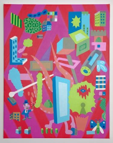 GARY PANTER, Door Jam,2009