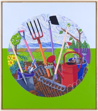 LAMAR PETERSON, Garden Tools, 2014