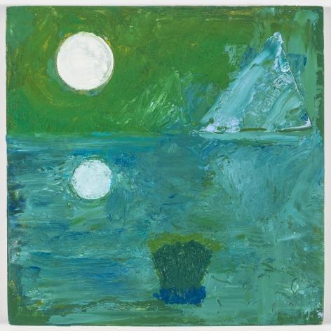 Thomas Trosch, Green Lagoon, 2017