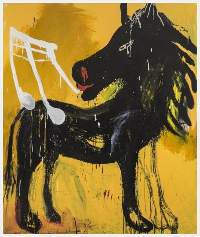 Cristina de Miguel, Yellow Horse, 2018