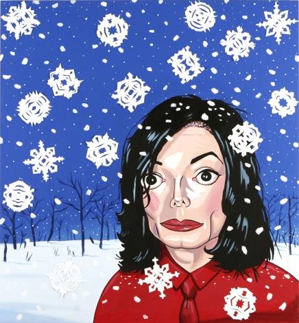 LAMAR PETERSON, Michael Jackson in Winter,2005