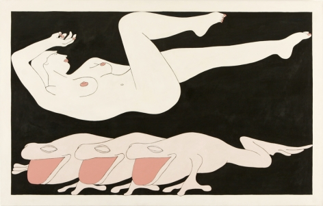 JOHN WESLEY, Dream of Frogs, 1965