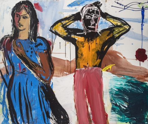 Cristina de Miguel, Adam and Eve, 2019