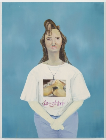 Dana Schutz, Daughter, 2000