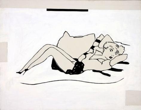 Steve Gianakos, A feverish heat seemed to emanate from her body, 1990