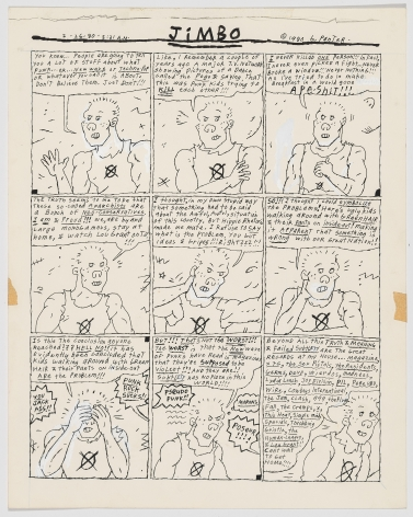 Gary Panter Jimbo Editorial, 1980
