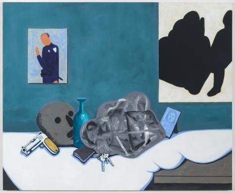 DavidHumphrey, Policeman's dresser, 2020