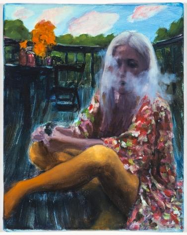 Jenna Gribbon, You Won't See Through Her Smokescreen, 2018
