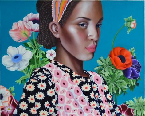 Jocelyn Hobbie, Ikat Bouquet, 2018