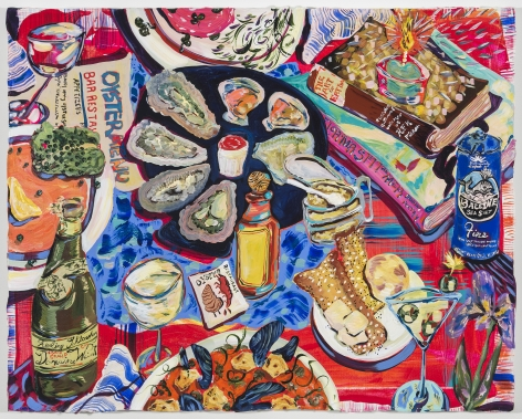 Kate Pincus-Whitney, Paradise a la Carte: Longings (Grand Oyster Bar), 2020