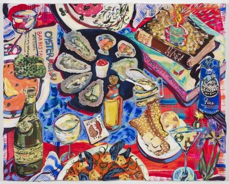 Kate Pincus-Whitney, Paradise a la Carte: Longings (Grand Oyster Bar), 2020