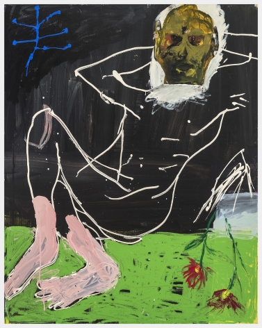Cristina de Miguel, Buddha on the Grass, 2019