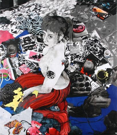 Zak Smith, Girls In The Naked Girl Business: Raven, 2004