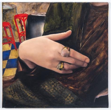 Jenna Gribbon, Erotic Hand In Public, 2018
