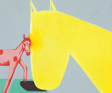 DAVID HUMPHREY, Horsey Love, 2014