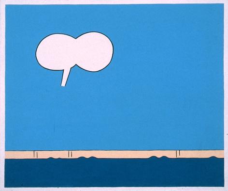 JOHN WESLEY, B's Wall,1973-1974
