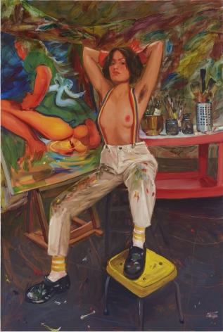 JennaGribbon The Artist Eroticized (Haley), 2020
