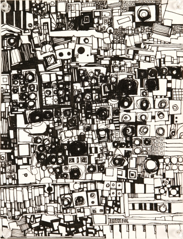 Zak Smith, Another Abstract Drawing