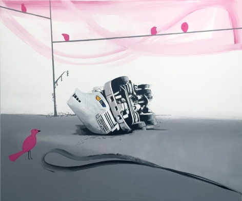 David Humphrey, Overturned, 2018