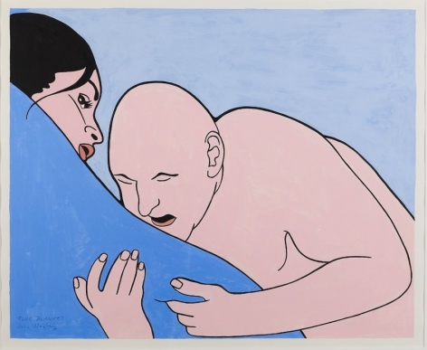 JOHN WESLEY Blue Blanket, 2000