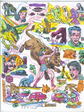 Gary Panter Wonder Woman-58, 2020