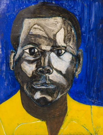 Frank Walter, Portrait of a Man in Yellow Shirt, c. 1970