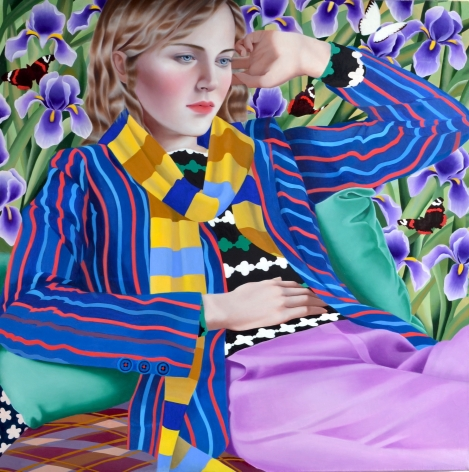Jocelyn Hobbie, Irises, 2018