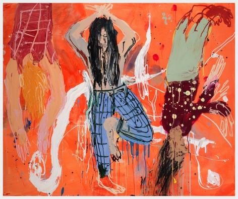Cristina deMiguel Falling Yoginis, 2020