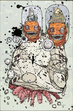 Nicholas Di Genova, Juvenile Potatopus with Landfish Carrot-Walker