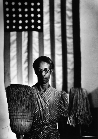 Gordon Parks, American Gothic, Washington, DC, 1942