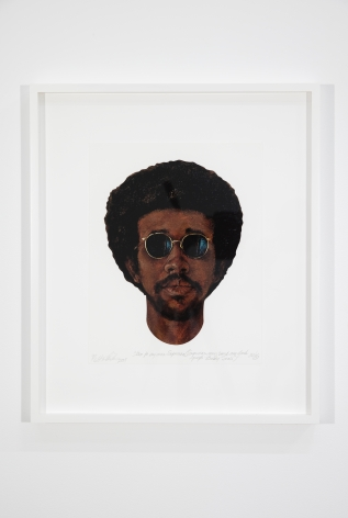 Barkley L. Hendricks, Icon For My Man Superman (Superman Never Saved Any Black People - Bobby Seale), 2009